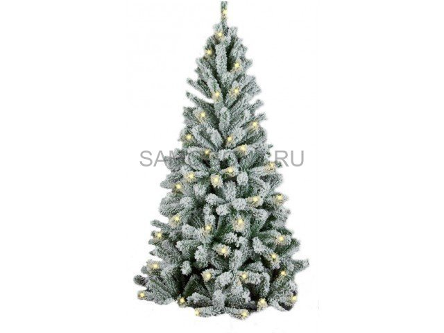 Искусственная елка Royal Christmas Flock Tree Promo Warm LED 150см.